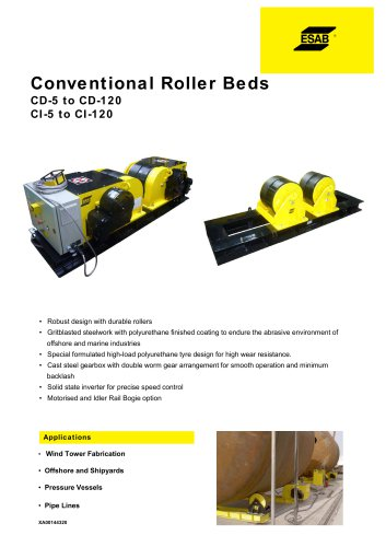 Conventional Roller Beds