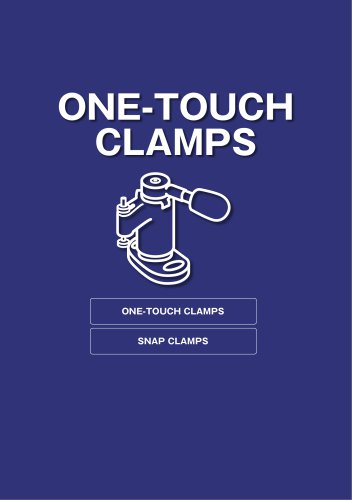 ONE-TOUCH CLAMPS