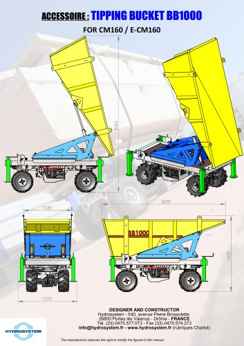 CM160-BB1000 THE REAL DUMPER