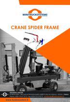 Crane spider frame