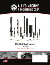 Allied drilling products catalog - 1