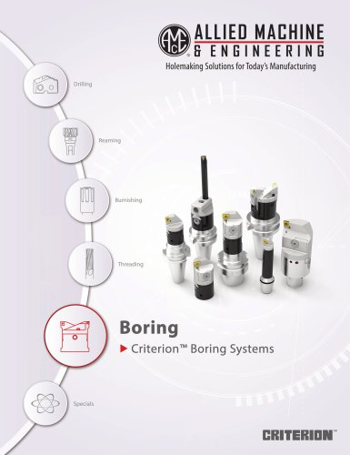 Criterion Bonring systems