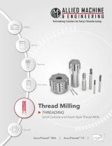 Thread Milling THREADING
