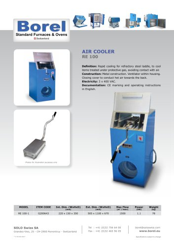 Air Cooler - RE 100