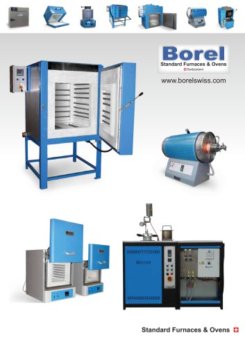BOREL Swiss Standard furnaces and ovens