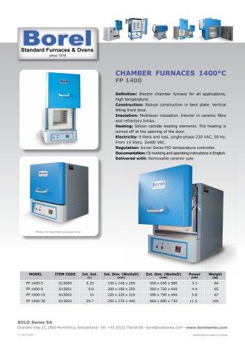 Elevator Furnaces 1100°C-1400°C - LE 1100-1400