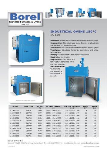 Industrial Oven 150°C - IA 150