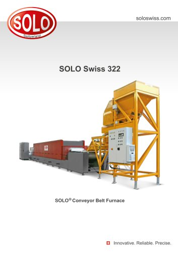 SOLO Swiss 322 SOLO®Conveyor Belt Furnace