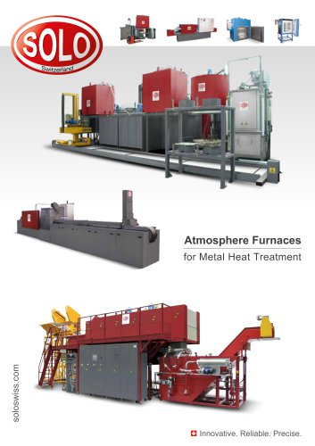 SOLO Swiss Atmosphere Furnaces for Metal Heat Treatment