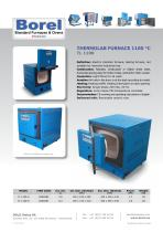 Thermolab Furnaces 1100 °C - TL 1100