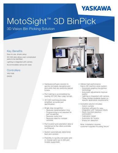 MotoSight 3D BinPick
