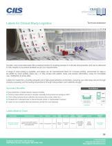 CLINICAL TRIAL LOGISTICS LABEL - 1