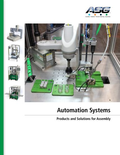ASG Automation Systems Catalog