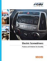 ASG Electric Screwdriver Catalog