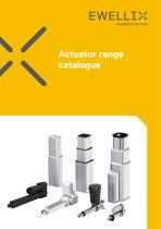 Actuator range catalogue