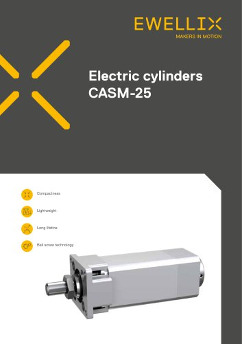 Electric cylinders CASM-25