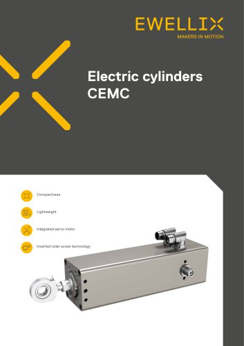 Electric cylinders CEMC