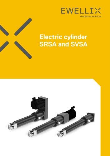 Electric cylinders SRSA, SVSA, SLSA