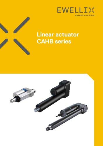 Linear actuator CAHB series