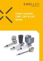 Linear actuator CAR, CAP & CAT series
