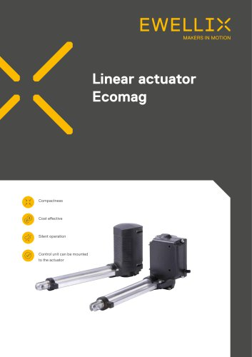 Linear actuator Ecomag