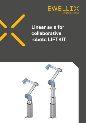 Linear axis for collaborative robots LIFTKIT