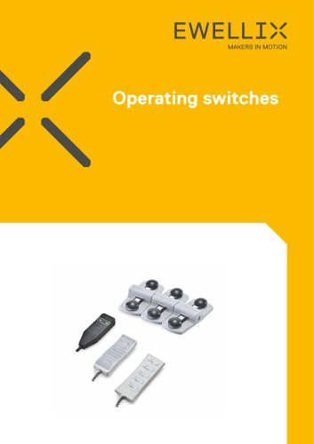 Operating switches