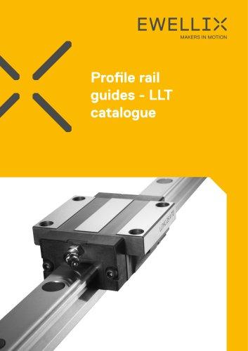 Profile rail guides catalogue - LLT
