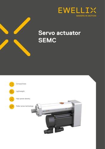Servo actuator SEMC