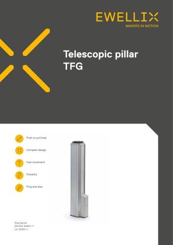 Telescopic pillar TFG