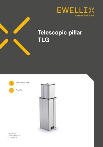Telescopic pillar TLG