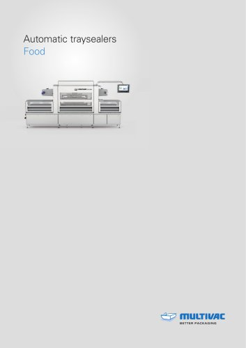 Automatic traysealers