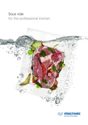 Sous vide for the professional kitchen