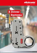 X DRIVER SYSTEM