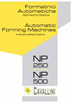 Automatic Forming Machines NP 250 /NP 500