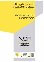 Automatic Sheeter NSF 250