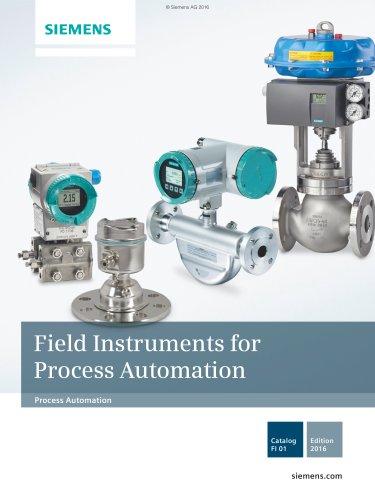 Catalog FI01 Process Automation 2016 en