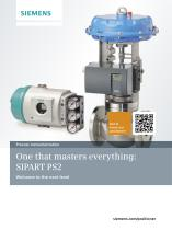 One that masters everything: SIPART PS2