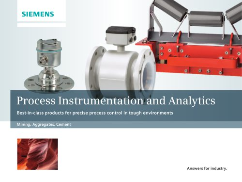 Process Instrumentation and Analytics