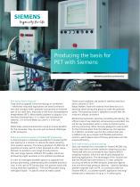 Producing the basis for PET with Siemens
