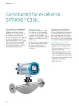 SITRANS F C digital Coriolis solutions. - 10