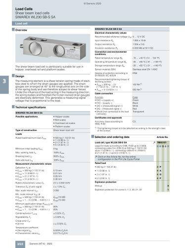 SIWAREX WL230 SB-S SA