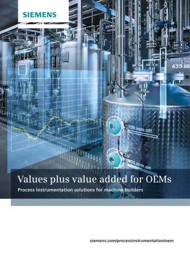 Values plus value added for OEMs
