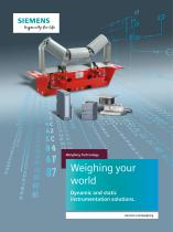Weighing Technology: Weighing your world