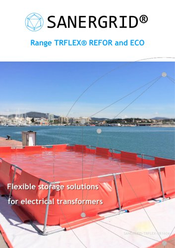 Flexible retention tank for oil transformer TRFLEX