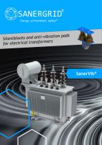 SANERVIB silentblocks and anti-vibration pads for electrical transformers