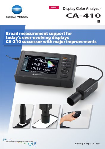 CA-410 for Display Calibration