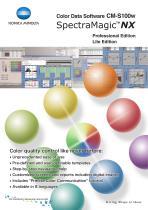 Color Data Software CM-S100w SpectraMagic NX - 1