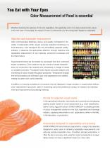 Color Measurement Solutions for the Food Industry - 3