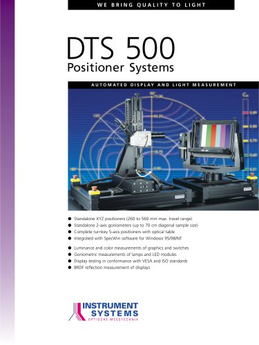 DTS 500 SPECTRORADIOMETER